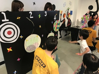 山王祭りでの縁日イベント実施.JPG